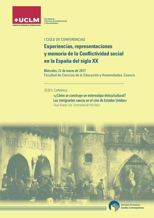 Óscar Álvarez Gila analiza los estereotipos de los inmigrantes vascos en el cine estadounidense