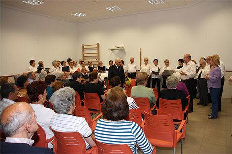 Jornada de convivencia de los centros de mayores 'Cristo del Amparo'  y 'San Pedro'