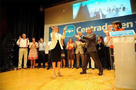 Cospedal subraya que el PP es garantía de la Sanidad y la Educación pública en Castilla-La Mancha