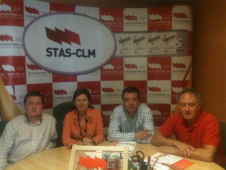 STAS-CLM presenta en Cuenca su programa electoral para el personal funcionario de Administración y Servicios de C-LM