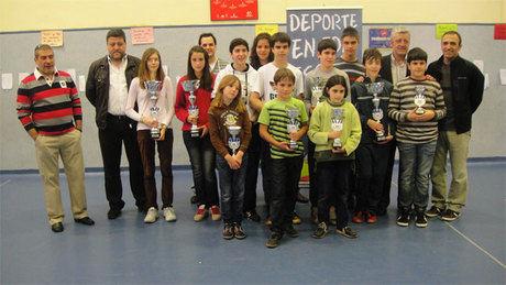 El campeonato escolar reúne a las promesas del ajedrez conquense