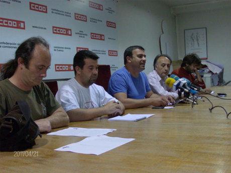 TRAGSA debe readmitir a siete trabajadores de la BRIF despedidos en Cuenca