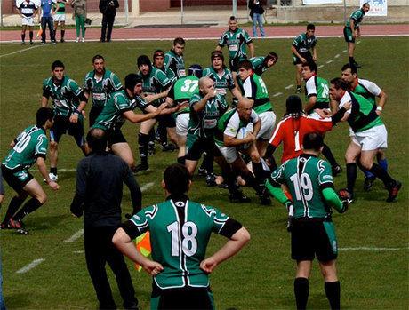 Nueva visita a Valencia para el Club Rugby 'A Palos'