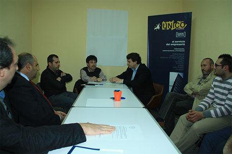 AJE C-LM y UNICO organizarán actuaciones conjuntas en favor del empresariado manchego