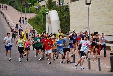 Intensa actividad deportiva en el Campus de Cuenca