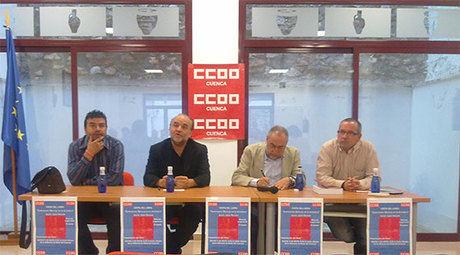 """Rodolfo Benito: """"Los sindicatos son el último valladar de los trabajadores para defender el modelo social conseguido tras años y años de lucha"""""""