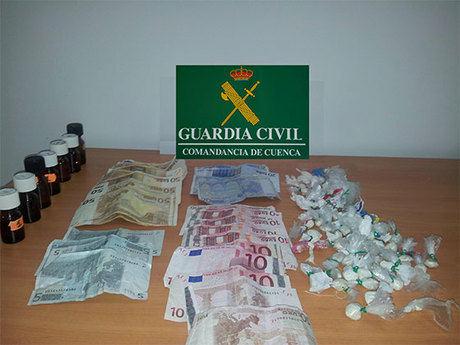 Detenidas  dos personas en El Provencio por tráfico de drogas