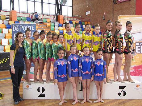 Nuevos  éxitos de las gimnastas del Club Huécar