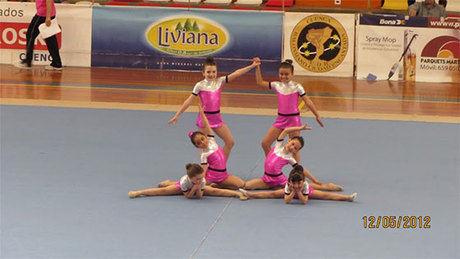 Espectacular campeonato provincial de gimnasia rítmica de Cuenca