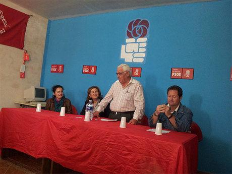 El PSOE de Santa María de los Llanos celebra el primero de mayo
