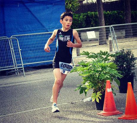 Notable participación de Trischool Cuenca en las series nacionales de triatlón en Madrid