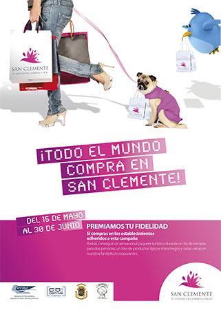 ACESANC inicia la campaña 'San Clemente, tu espacio de compras y ocio'
