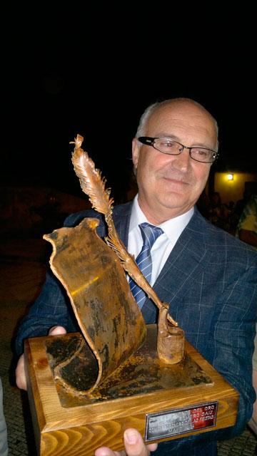 El escritor Miguel Romero pregonó las fiestas de la Fuente del Oro