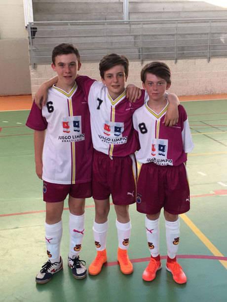 Tres jugadores conquenses participaran en el Torneo Nacional de Fútbol de sala infantil