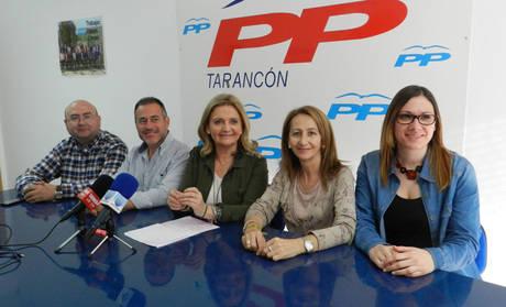 """El PP de Tarancón pone en duda los """"verdaderos intereses"""" que defiende el Equipo de Gobierno de López Carrizo"""
