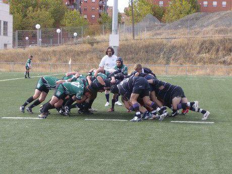 Justa derrota del Club Rugby 'A Palos' en Madrid