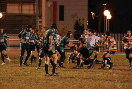El Club Rugby 'A Palos' vence y convence frente al Politécnica de Valencia RC