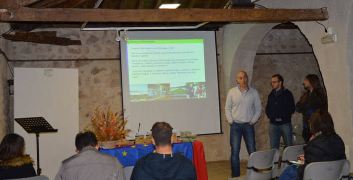 La Fundación Global Nature presenta el proyecto Estepas de la Mancha a los agricultores, ganadores y cazadores de Mota del Cuervo