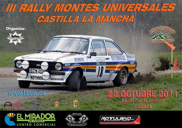 El C.C. El Mirado acoge este sábado  el III Rally Regularidad Montes Universales
