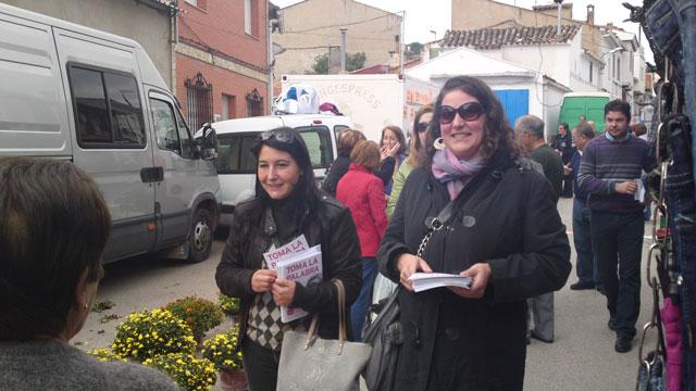 UPyD visita Valverde del Júcar para dar a conocer su programa electoral