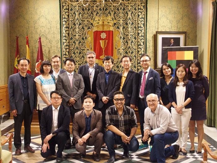 Cuenca se promociona como destino educativo para Corea del Sur