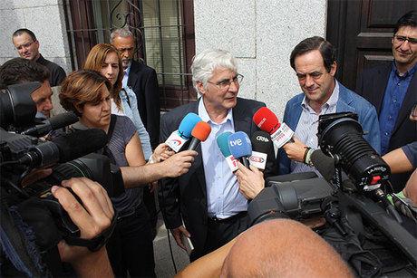 """Barreda destaca la actitud """"valiente"""" de Chacón, que """"beneficia a la unidad del partido"""""""