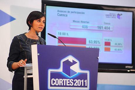 El porcentaje de participación en las elecciones autonómicas se sitúa en un 58,45 por ciento