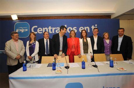"""Cospedal afirma que sólo podremos salir de la crisis """"con la lucha de toda la sociedad de la región y con un Gobierno fuerte y solvente"""""""