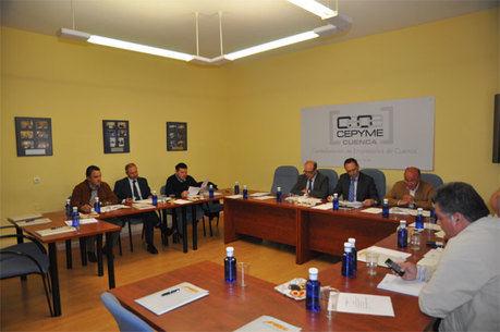 Manuel Carrascosa García, nuevo presidente de APYMEC por aclamación