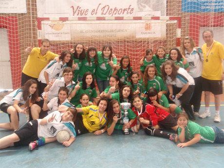El Sargal  acogió la final regional de fútbol sala cadete femenino