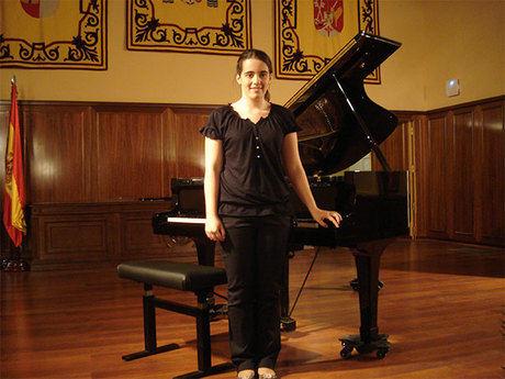 """La conquense Marta Leiva Egido obtiene el primer premio en el IX concurso de piano """"Diputación de Albacete"""""""