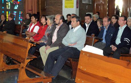 El alcalde participa en los actos programados en honor a Santa Rita
