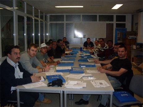 CEOE CEPYME Cuenca desarrolló un aula de prevención en el sector del metal