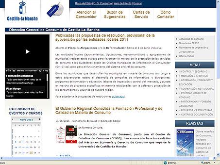 Los ciudadanos disponen ya de un nuevo canal de información on-line en materia de consumo