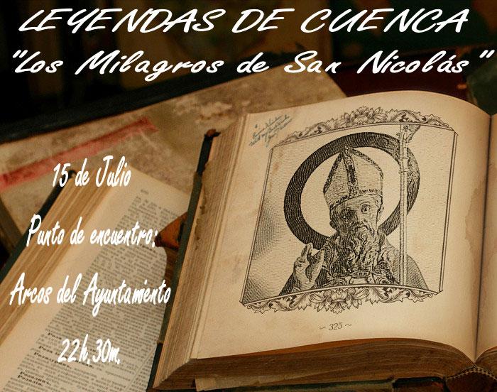 Las 'Noches de Leyenda' llegan este sábado a 'Veranos en Cuenca' con 'Los Milagros de San Nicolás'
