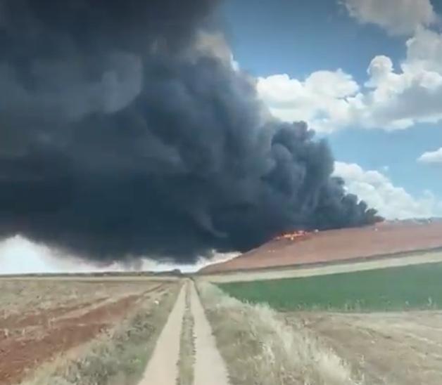 Exigen medidas para proteger a la población, al medio ambiente y responsabilidades por el incendio en la planta de reciclaje de residuos de Almonacid del Marquesado