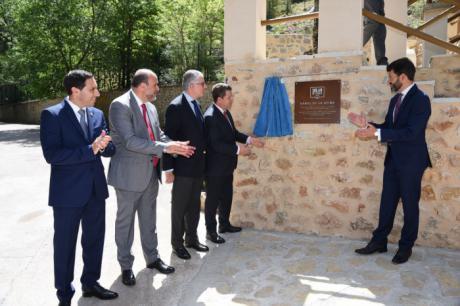 """Inaugurada la reforma de los """"Los Baños de la Reina"""" en Beteta"""
