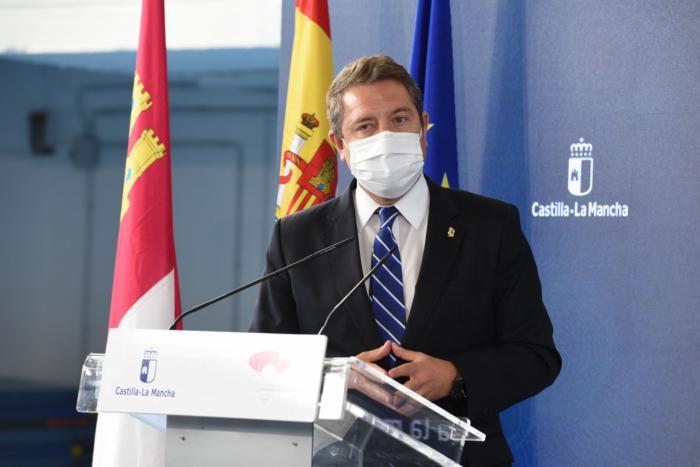 """García-Page reclama un consenso entre autonomías """"que garantice la llegada de los fondos europeos y la estabilidad social y económica"""""""