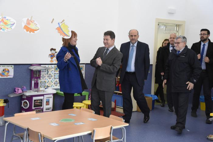 El próximo Plan de Infraestructuras Educativas incluirá la realización de obras de reforma y mejora en más de 60 centros educativos de Cuenca