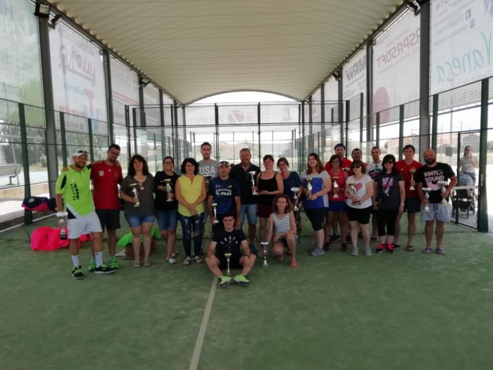 Clausura de Liga Municipal de Padel 2017 -2018 de Mota del Cuervo