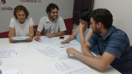 IU inicia el curso político en Cuenca tras un verano muy activo