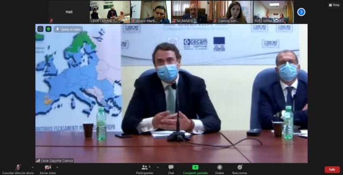 Las CEOEs de Cuenca, Soria y Teruel proponen un proyecto de transformación digital de las tres provincias al Fondo de Reconstrucción