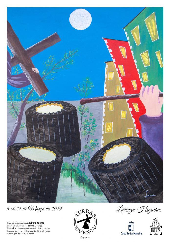 La Sala Iberia acoge una exposición del artista Lorenzo Higueras con Las Turbas como protagonista
