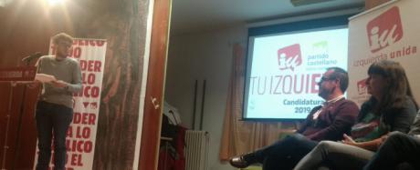 Presentación de la candidatura Izquierda Unida-Partido Castellano a la alcaldía de Cuenca