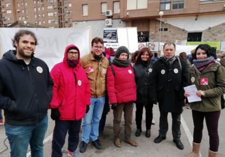 """IU Cuenca apoya a """"Pueblos vivos"""" en su manifestación en Cuenca"""