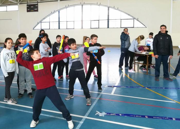 El Programa 'Miniatletismo en la escuela' llega el ecuador de la temporada 2017/2018