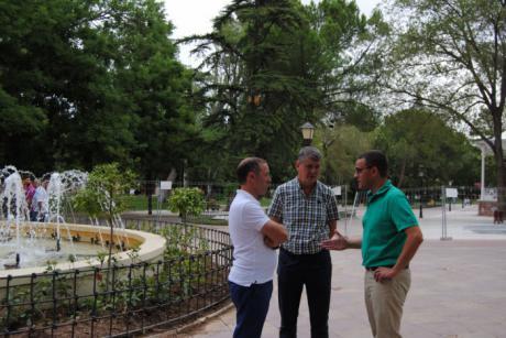 Abre al público el parque de la Concordia en Guadalajara tras sus obras de renovación