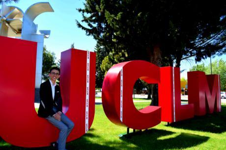 Jesús Ruiz Poveda, nuevo delegado de Estudiantes de la UCLM