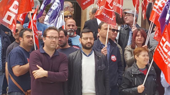 Martínez (IU): 'Cuenca no puede permitirse perder cerca de 400 empleos por el gusto de Benjamín Prieto'