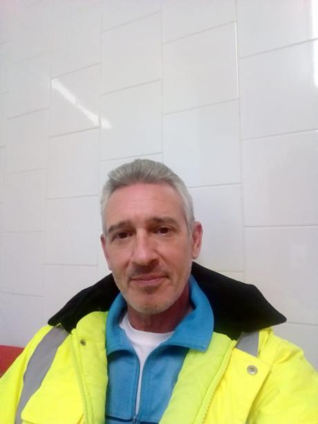 Jorge Tejera, trabajador del Cadig 'El Crisol'